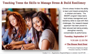 Stress Management And Resiliency Training (SMART) program